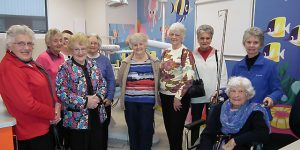 Wangaratta Ladies Probus Club take a tour of NHW