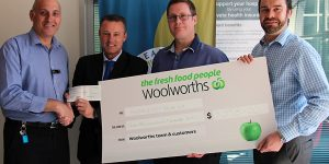 Woolworths donate to NHW Appeal
