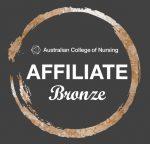 Bronze Affiliate logo for Australian College of Nursing