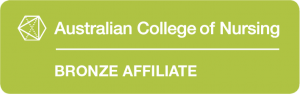Australian College of Nursing Bronze Affiliate logo