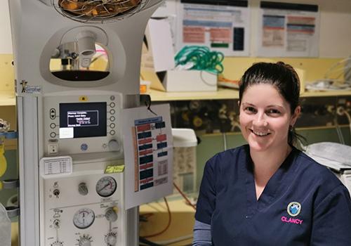 Maternity graduate nurse