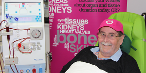 Wayne Duncombe awaits a second transplant