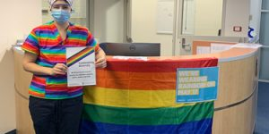 NHW goes rainbow for IDAHOBIT