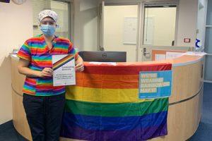 NHW goes rainbow for IDAHOBIT