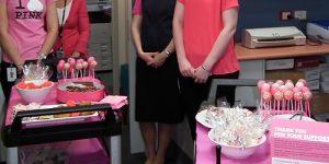 Medical Imaging pink fundraiser