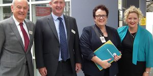 Minister Hennessy visit to NHW