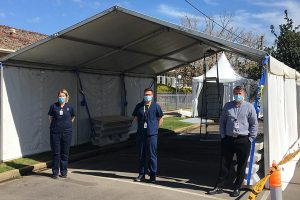 Relocation of COVID-19 Screening Clinic