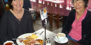 Pink Breakfast success