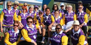 NHWs Relay for Life team
