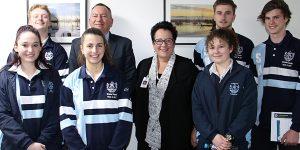 Students visit NHW as part of Business Studies unit