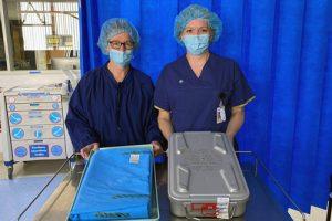 Sterilisation wrap crisis averted