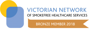 Member of the Victorian Network of Smokefree Healthcare Services