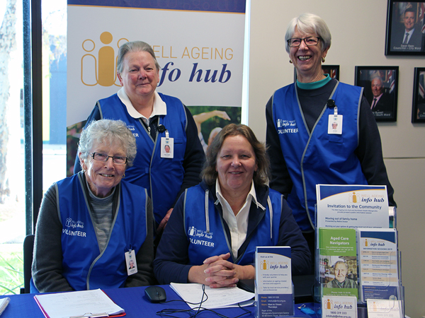 Well Ageing Info Hub Volunteers