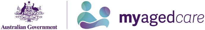 MyAgedCare.gov.au logo
