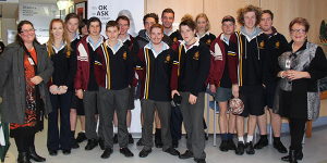 VCAL students tour NHW